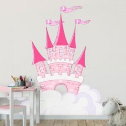 Vinil infantil castelo da princesa
