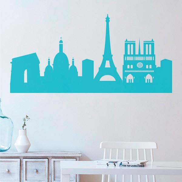 Vinil skyline de Paris