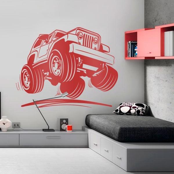 Vinil decorativo jeep