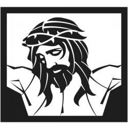 Vinil quadro de Jesus Cristo