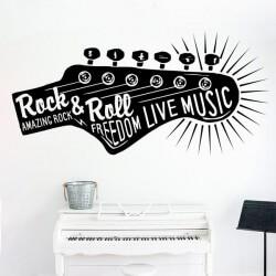 Autocolante Rock & Roll