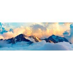 Foto mural paisagem de montanha