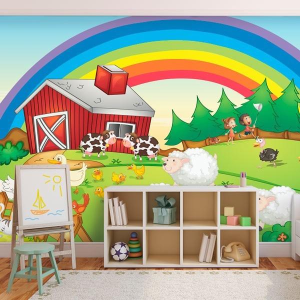 Papel de parede animais da quinta