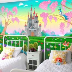 Mural infantil conto de fadas