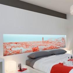 Poster aquarela de Florença