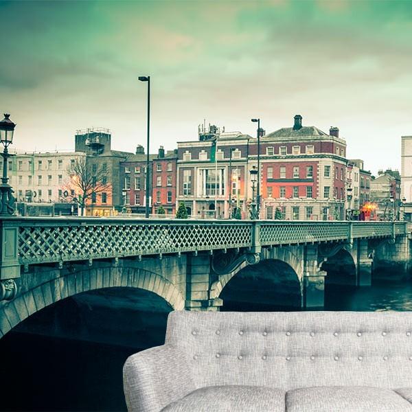 Papel de parede cidade de Dublin