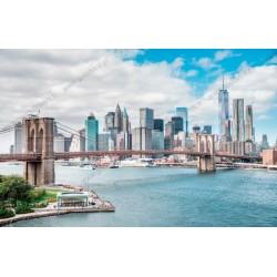 Foto mural panorâmica de Nova Iorque