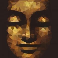 Papel de parede rosto de Buda