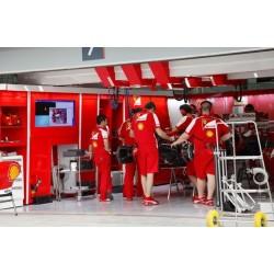 Papel de parede oficina Ferrari