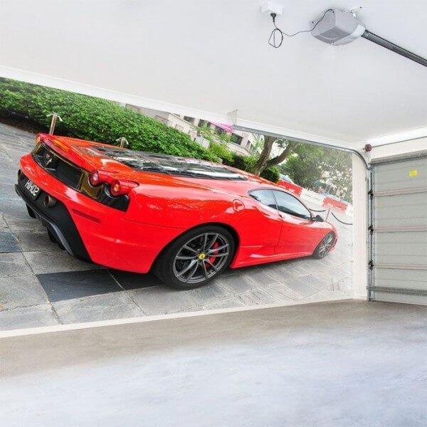 Vinil de parede Ferrari