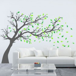 Vinil decorativo árvore 17