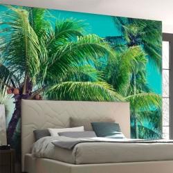 Papel de parede palmeiras
