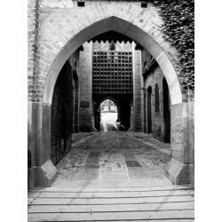 Foto mural entrada do castelo
