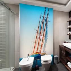 Foto vinil barco a vela