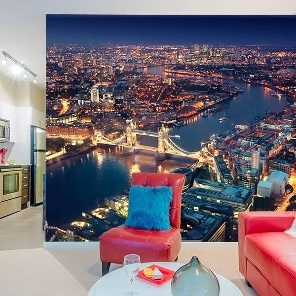 Foto mural Londres à noite