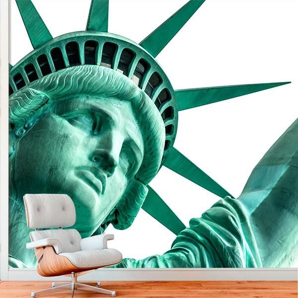 Mural estátua da Liberdade