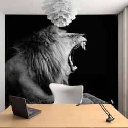 Foto mural de leão