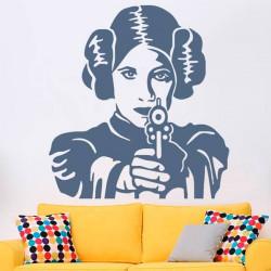 Adesivo princesa Leia
