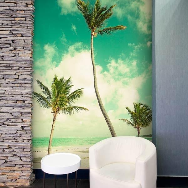 Foto mural praia exótica