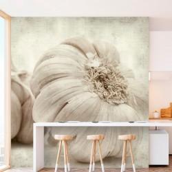 Papel de parede cabeça de alho