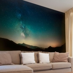 Papel de parede céu estrelado