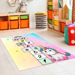 Tapete vinílico infantil jogo da macaca