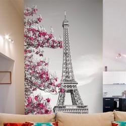Vinil de parede torre Eiffel