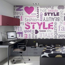 Papel de parede style