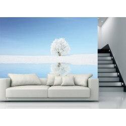 Murais de árvore branca