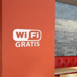 Vinil montra wifi gratis
