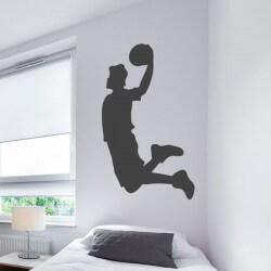 Adesivo jogo de basquetebol