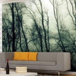 Vinil nevoeiro no bosque