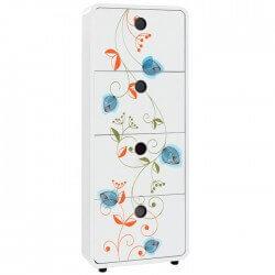 Vinil móveis flores 33