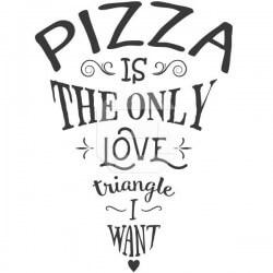 Pizza love triangle