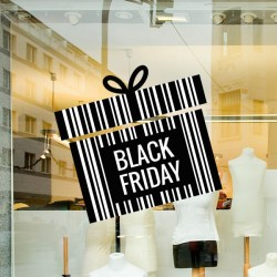 Autocolante black friday