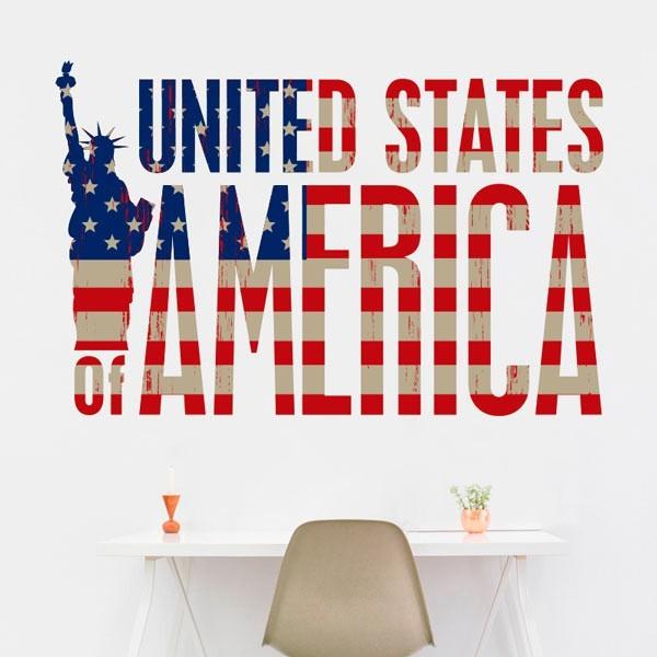 Vinil de parede América