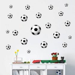 Autocolante bolas de futebol