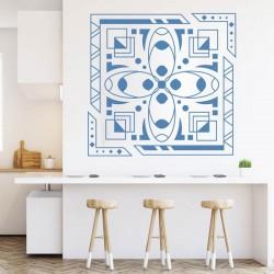 Vinil quadrado ornamental