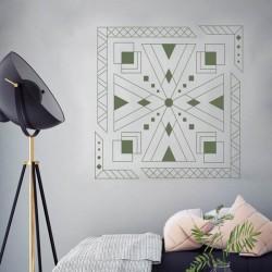Adesivo padrões geométricos