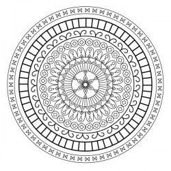 Adesivo mandala hindu