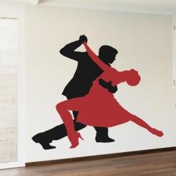 Vinil silhuetas tango