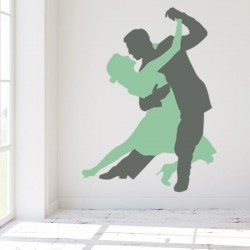 Autocolante decorativo tango