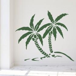 Vinil decorativo palmeiras