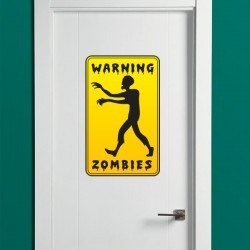 Vinil warning zombies