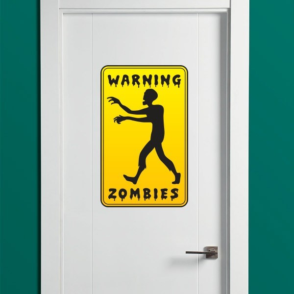 Vinil warning zombies
