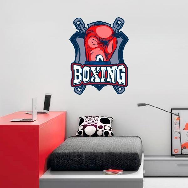 Adesivo de parede boxing