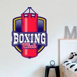 Vinil decorativo boxing club