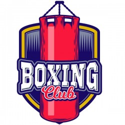 Vinil decorativo boxing club