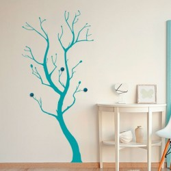 Cabide de parede árvore