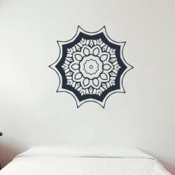 Mandala padrão floral